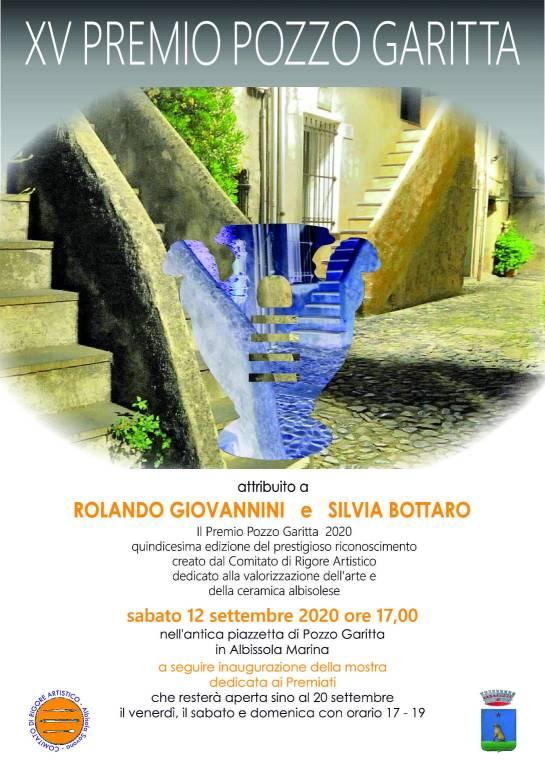 Albissola Marina Premio Pozzo Garitta 2020 cerimonia consegna