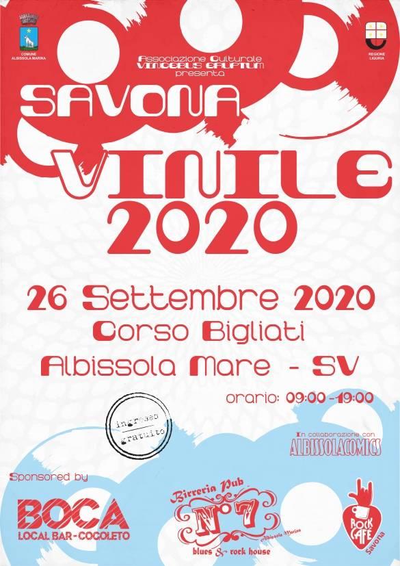 """Albissola Marina """"Savona Vinile"""" 2020 fiera del disco"""