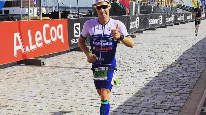 IronMan, Ivan Cappelli straordinario in Estonia: 3 ore e 14′ in ...