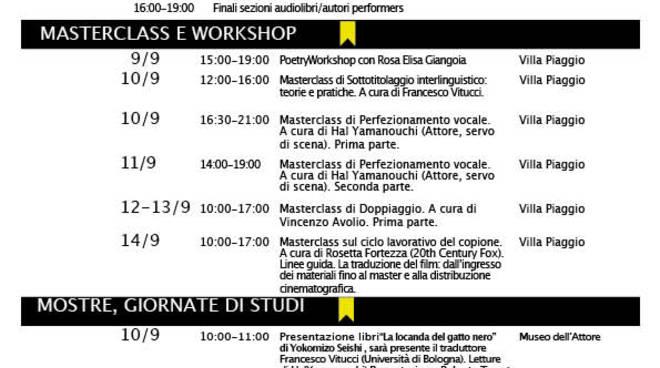 Masterclass di doppiaggio con Stefano De Sando, voce ufficiale di Robert De Niro