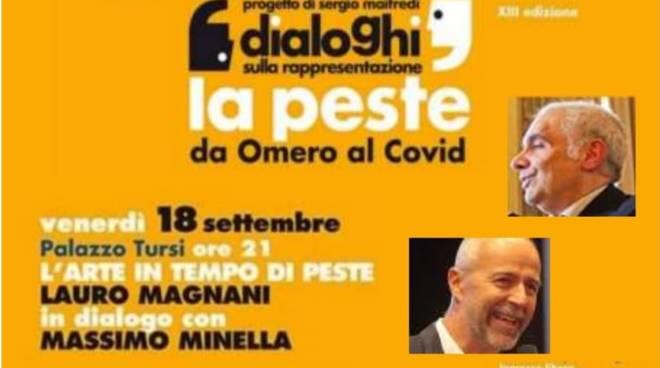 Teatro Pubblico Ligure, venerdì 18 settembre alle 21 a Palazzo Tursi 'Arte in tempo di peste'