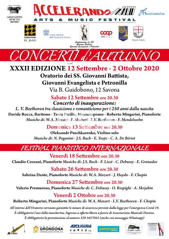 Concerti d'Autunno per Accelerando Arts & Music Festival