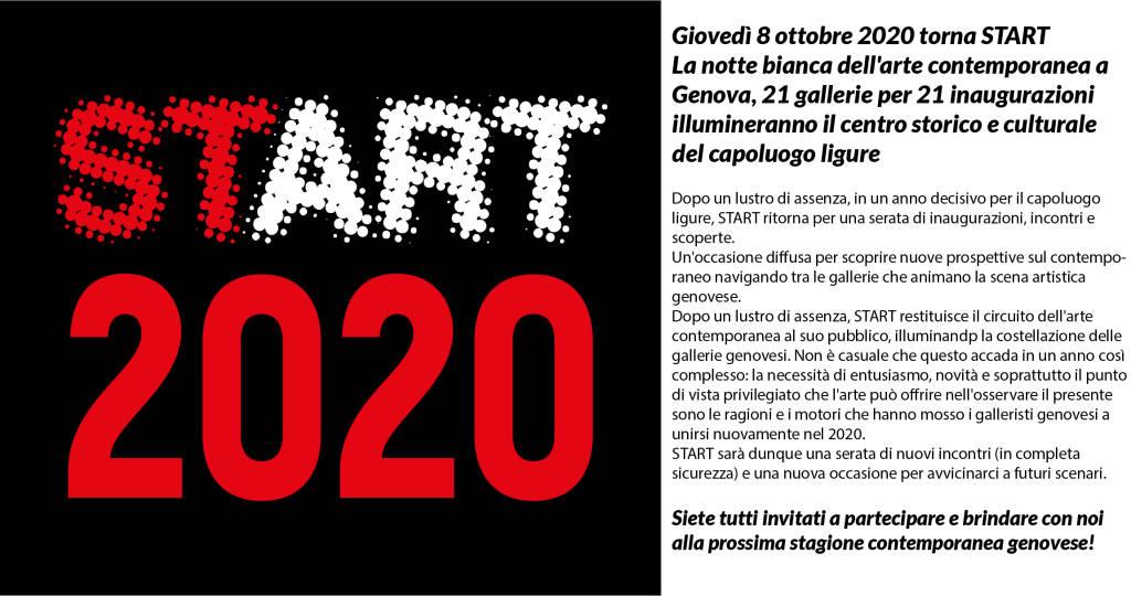Torna Start, la notte bianca dell\'arte contemporanea genovese