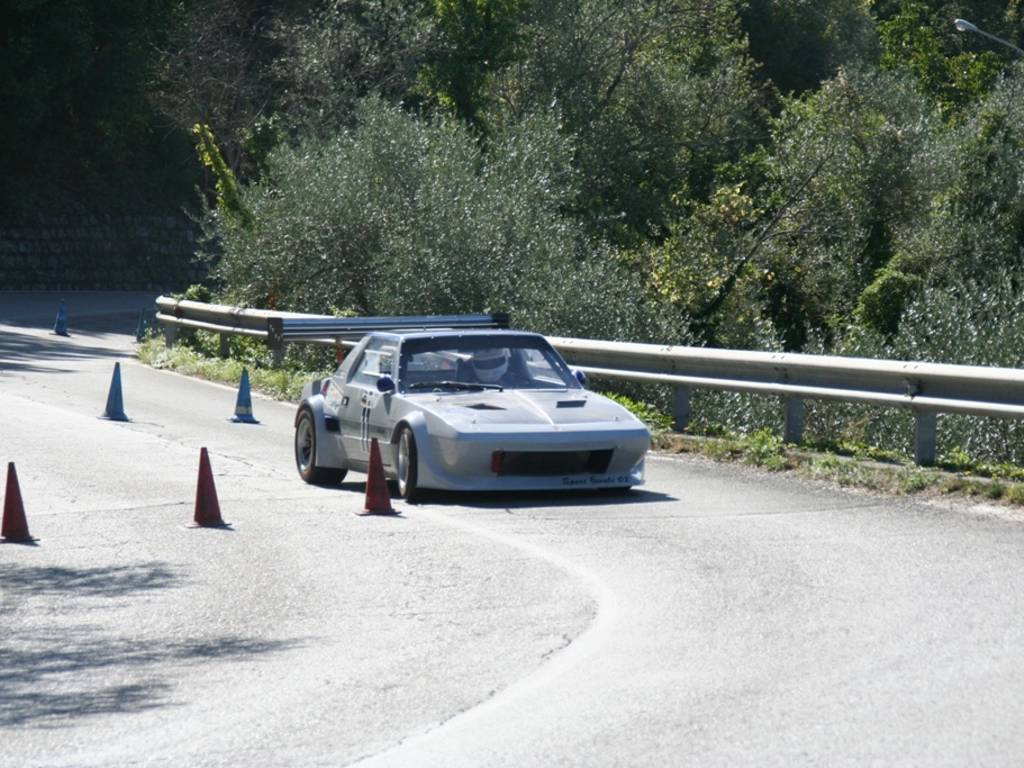 "A Gianluca Ticci (Sport Favale 07) lo slalom \""Chiavari - Leivi\"""