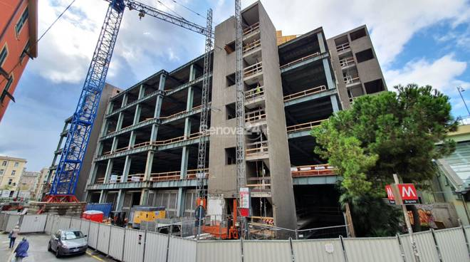 edilizia nuova sede iren