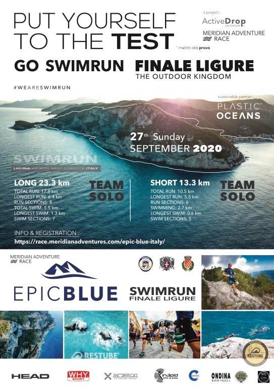 EpicBlue SwimRun 2020 Finale Ligure e Noli