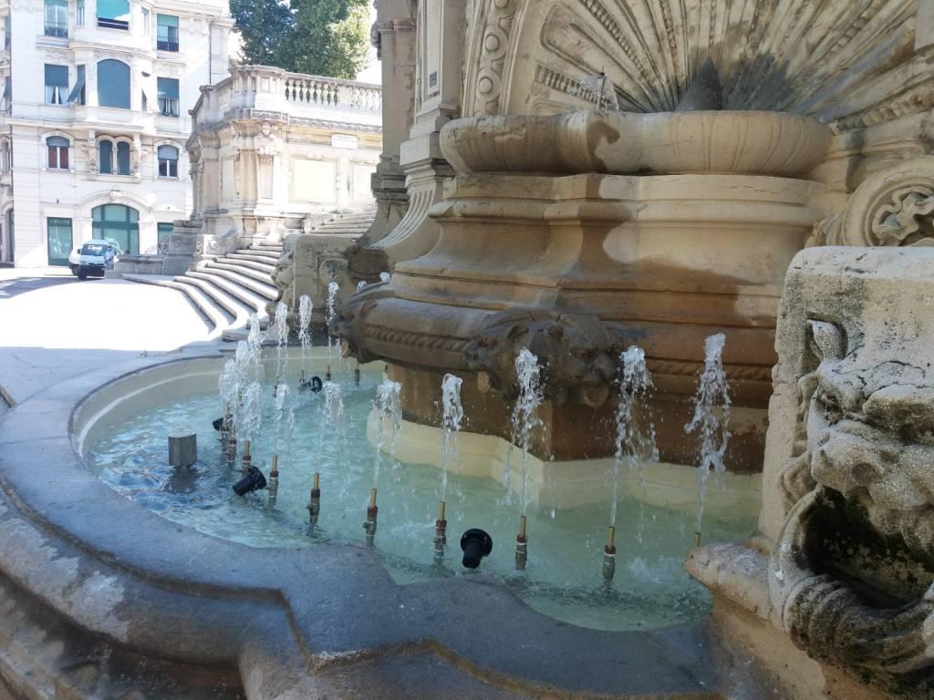 fontane scalinata borghese