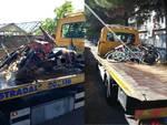 Moto Bici Abbandonate Albenga