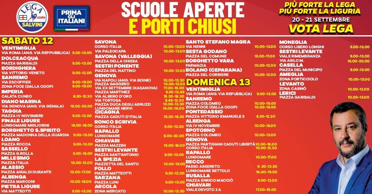 Gazebata Lega Liguria