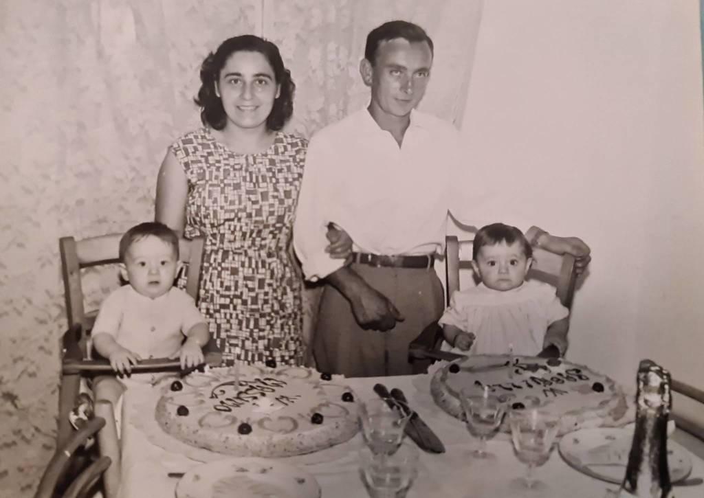 60 anni di matrimonio - mel zefferino e delfino battistina loano