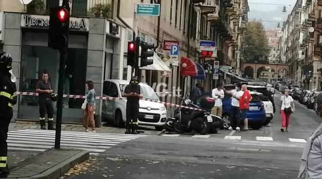 Scontro Auto Savona