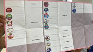 Scheda Elezioni Regionali 2020