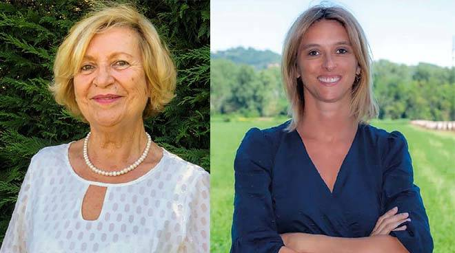 Maria Zunato e Caterina Garra