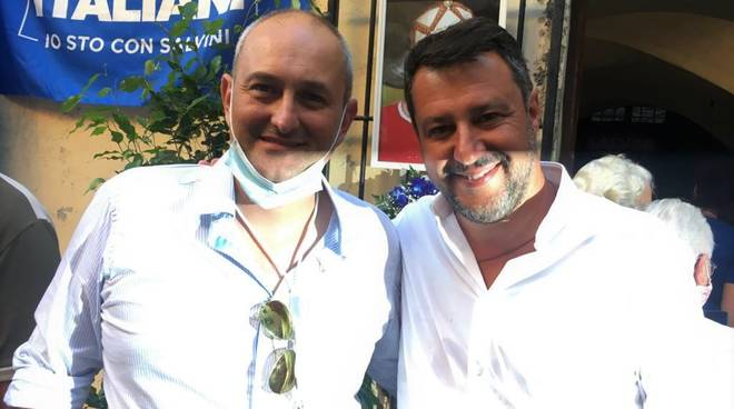 Demis Aghittino Matteo Salvini