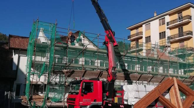 nuovo tetto palestra scuola calizzano