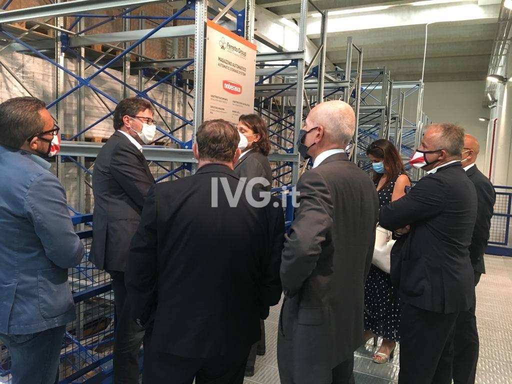 Il vicesegretario della Lega Giorgetti in visita in Valbormida