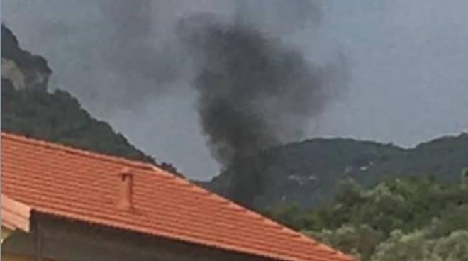 Incendio Calvisio Finale