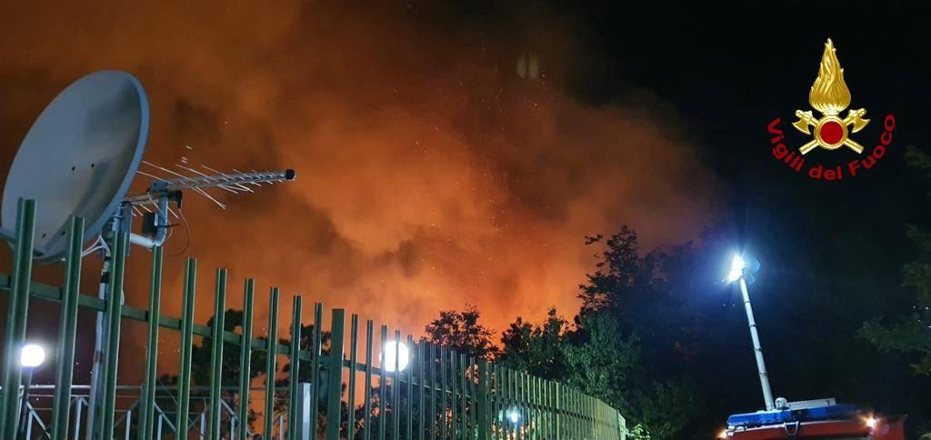 Incendio Casarza