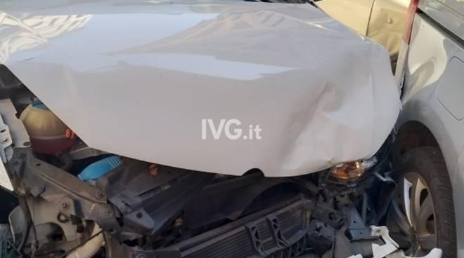 Incidente Savona via Luigi Corsi