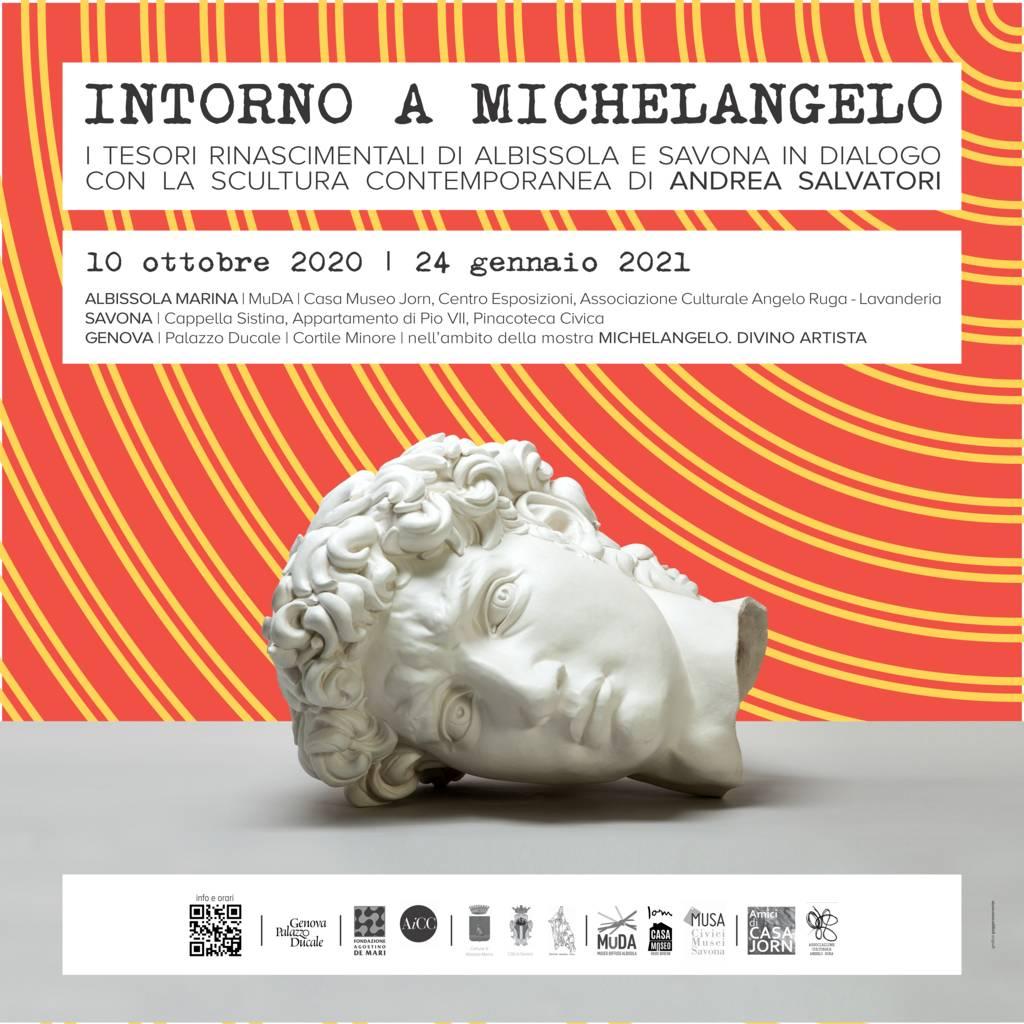 """""""Intorno a Michelangelo"""" mostra diffusa Albissola Marina e Savona"""