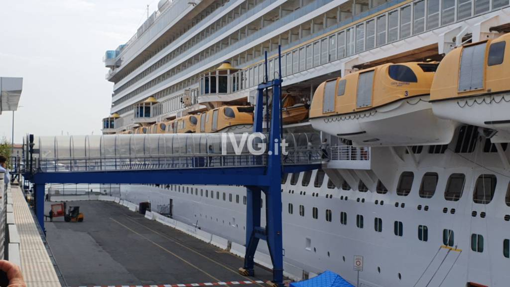 Le Crociere Costa tornano a Genova: parte Costa Diadema