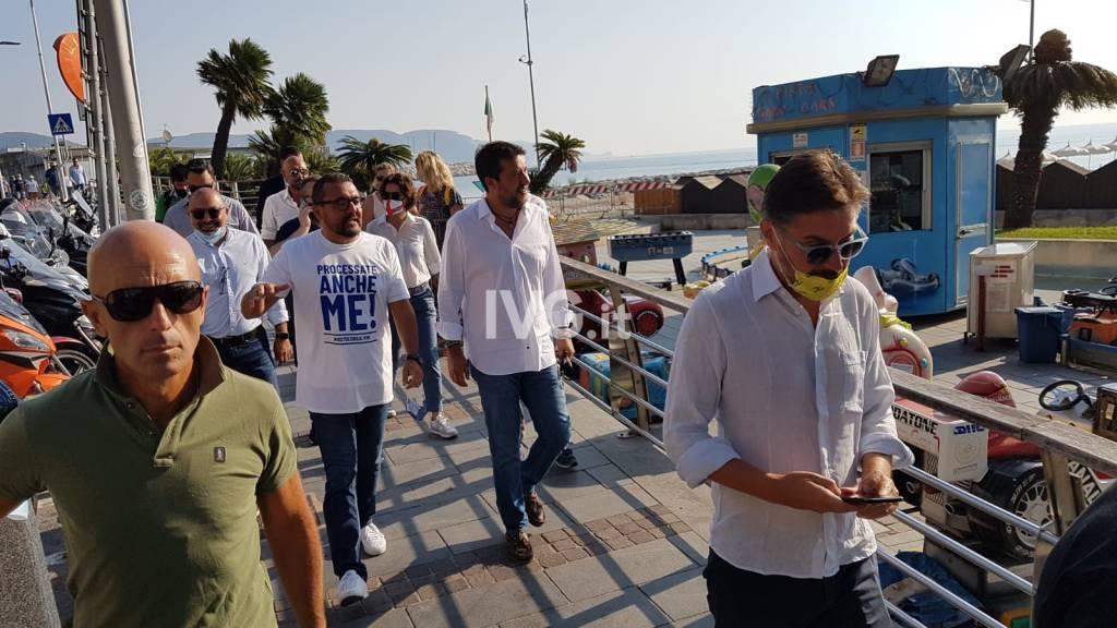 Matteo Salvini a Loano