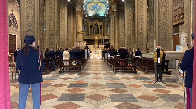 Messa patrono polizia Duomo Savona