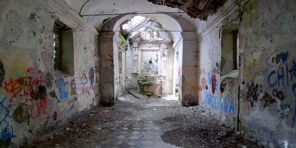 Oratorio abbandonato di San Rocco