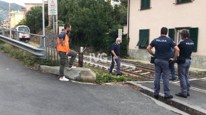 Persona travolta da un treno ad Alassio