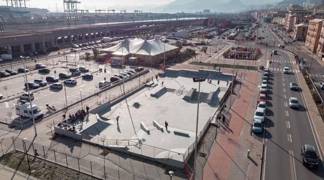 skatepark skateboard pra'