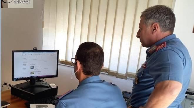 Truffe online carabinieri generica