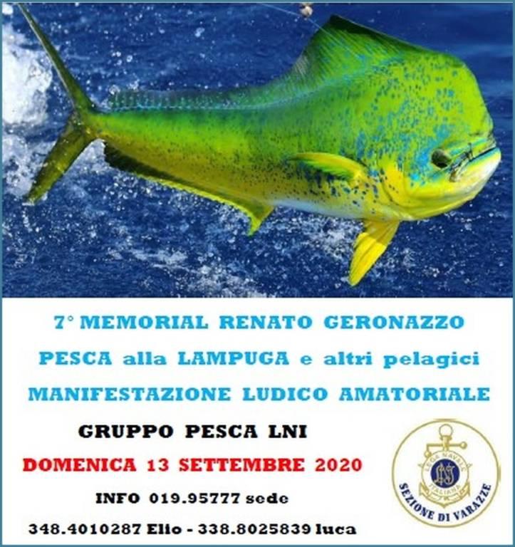 """Varazze Raduno di Pesca alla Lampuga - Memorial """"Renato Geronazzo"""" 2020"""