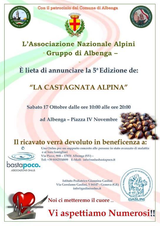 """Albenga """"Castagnata Alpina"""" 2020"""