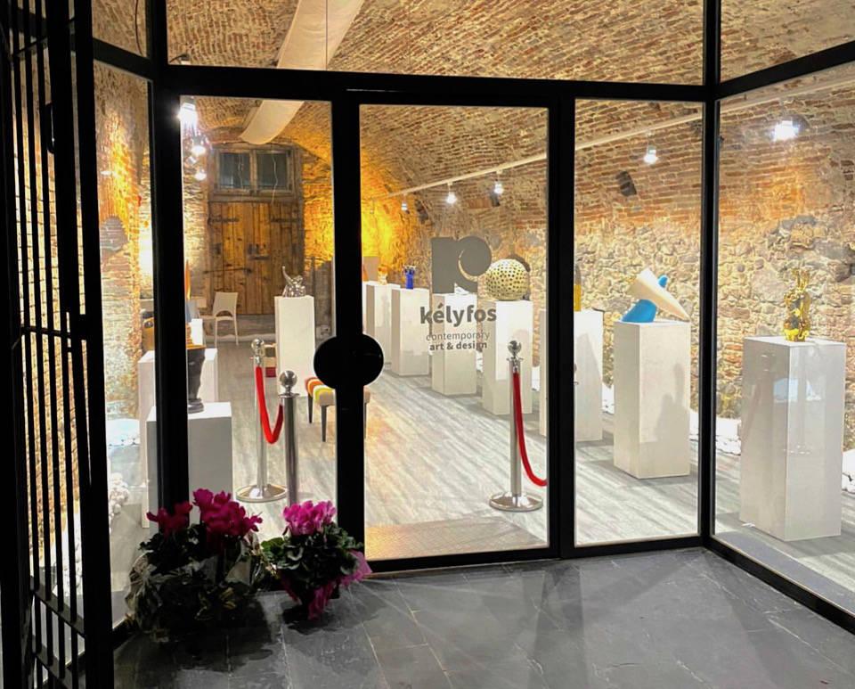 Albissola Marina Kèlyfos Contemporary Art & Design galleria