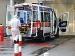 ambulanza covid san martino coronavirus pronto soccorso contagio ricovero
