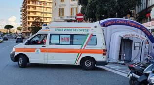 ambulanze coronavirus covid pronto soccorso galliera