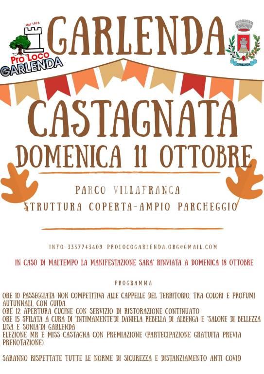 Castagnata a Garlenda