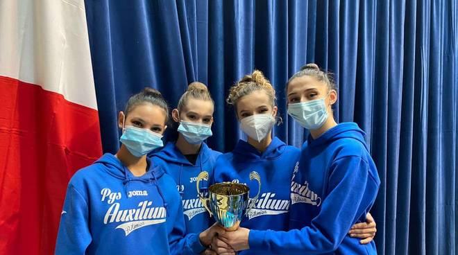 Ginnastica Ritmica, l'Auxilium Genova vola alle finali nazionali