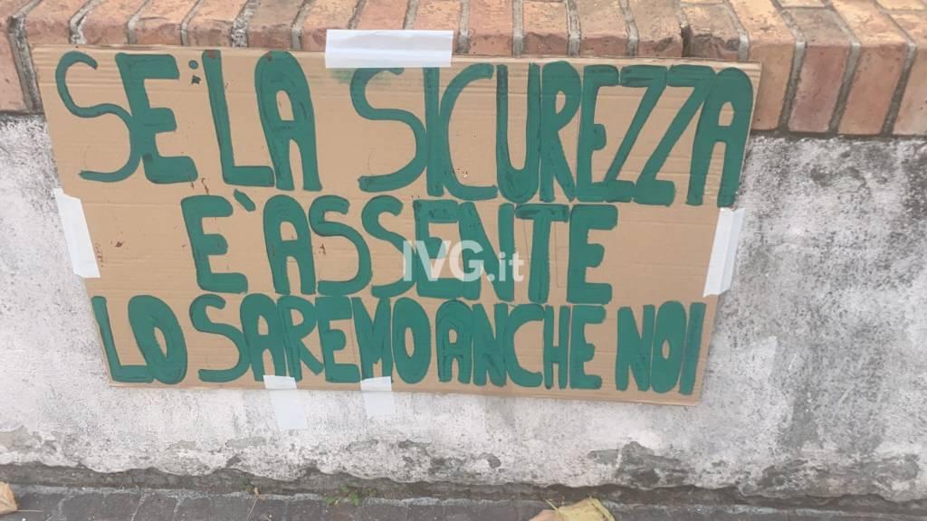 Sciopero al Giordano Bruno; gli studenti pretendono sicurezza