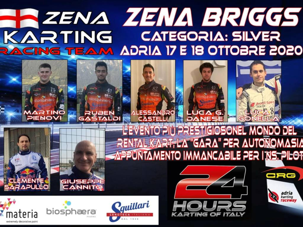 24 hours karting of Italy