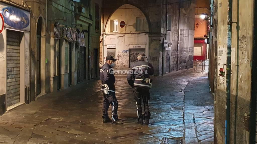 centro storico vigili polizia locale movida vicoli