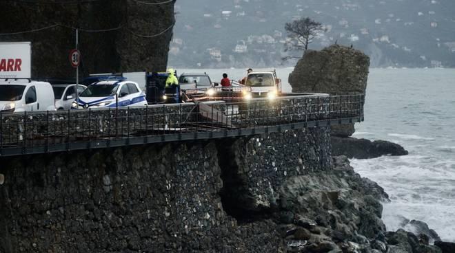 Danni maltempo a Santa Margherita e Portofino