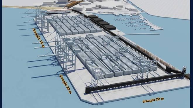 porticciolo accanto  Maersk - Vado Ligure