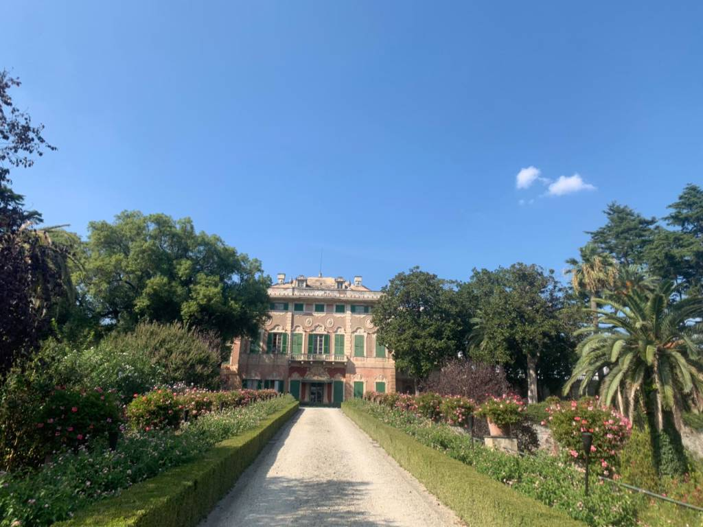 Villa Faraggiana  albissola marina