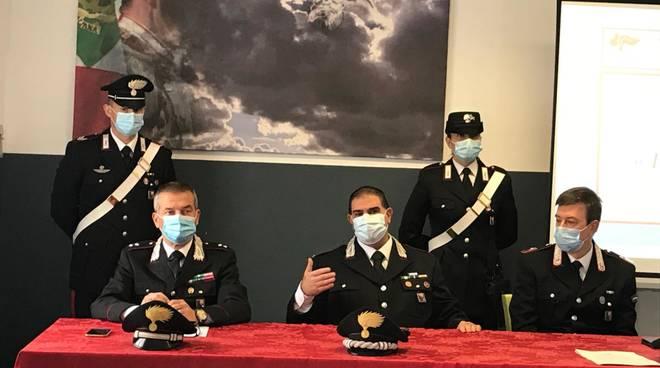carabinieri alassio operazione promessi sposi