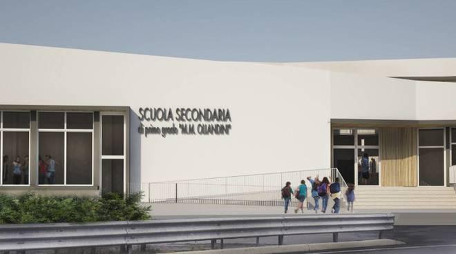 Nuovo plesso scolastico Alassio