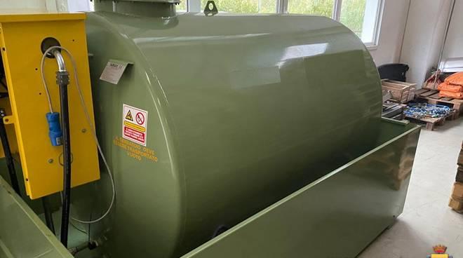 deposito gasolio