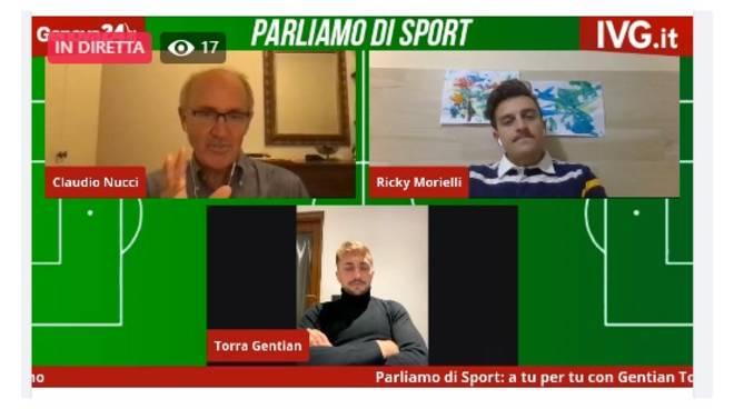 Gentian Torra e Riccardo Morielli