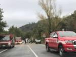 Incidente vigili del fuoco Arnasco