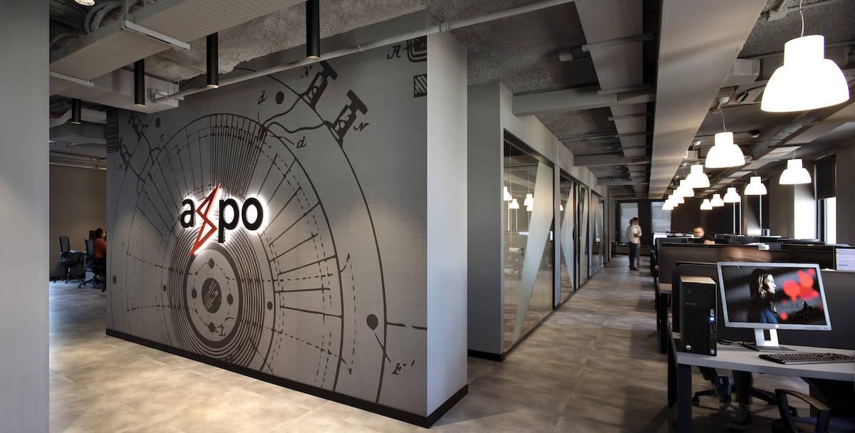 La nuova sede di Axpo a Genova